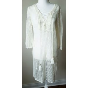 Other - Beautiful Open Weave Swim Cover UP